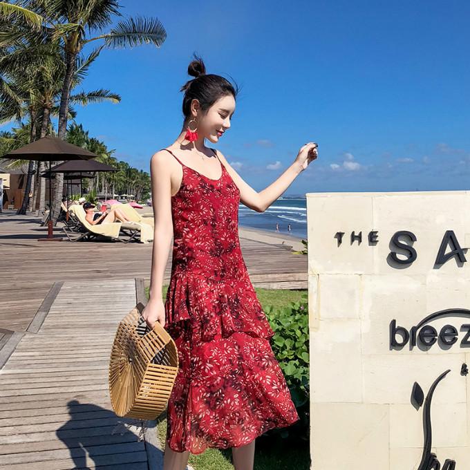 红色连衣裙,气场能赢红毯女星 服装 第12张