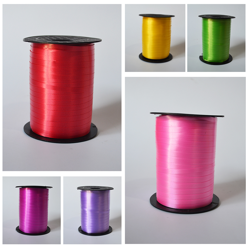 Large roll tie balloon ribbon Wedding wedding wedding supplies tied balloon accessories Birthday festival gift ribbon
