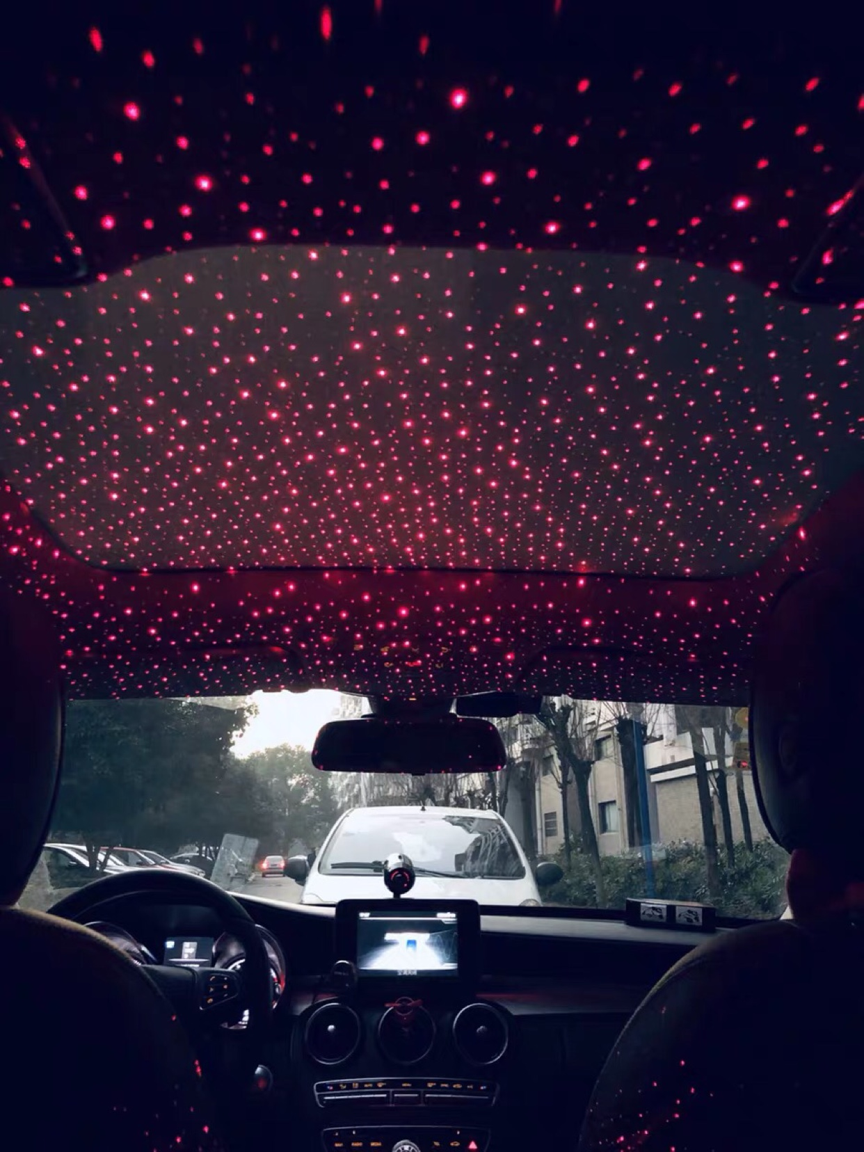 抖音同款:汽车内饰星空灯