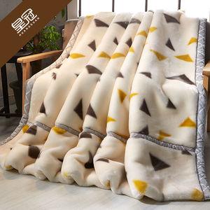 3秒速热多尺寸毛毯超柔加厚毛毯法