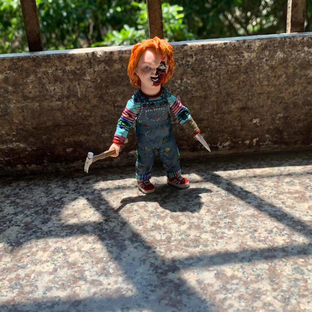 Spirit Halloween 2 Ft Chucky Doll Decoration