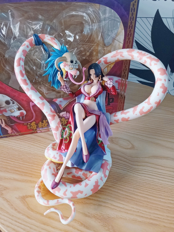 Anime One Piece GK Kabuki Boa Hancock Red Ver PVC Figure Toy New In Box 30cm