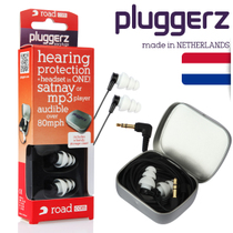 pluggerz Netherlands professional car noise-cancelling earbuds Noise-cancelling motorcycle active noise-cancelling music headphones with cable