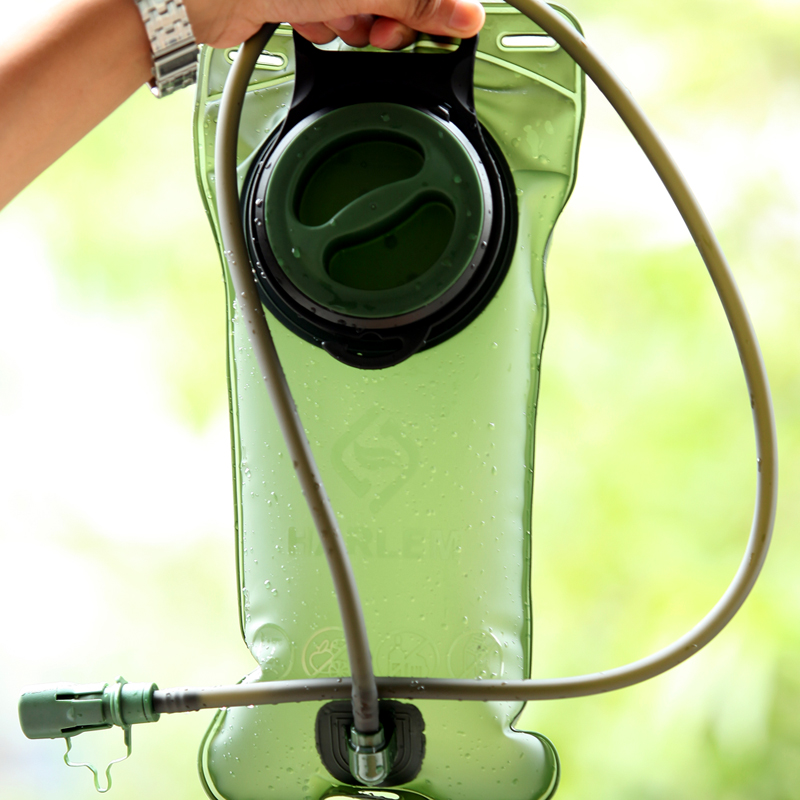 Harlem Outdoor Sports water bag 2L 3L large mouth drinking bag ride mountaineering water bag thickened TPU water bag
