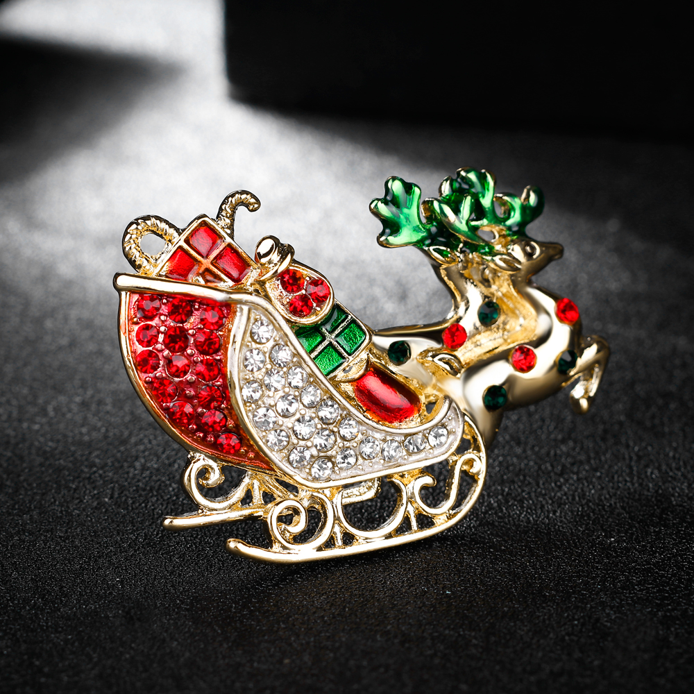 2018 Latest Christmas Gifts Brooches Pins Jewelry For Women Party ...