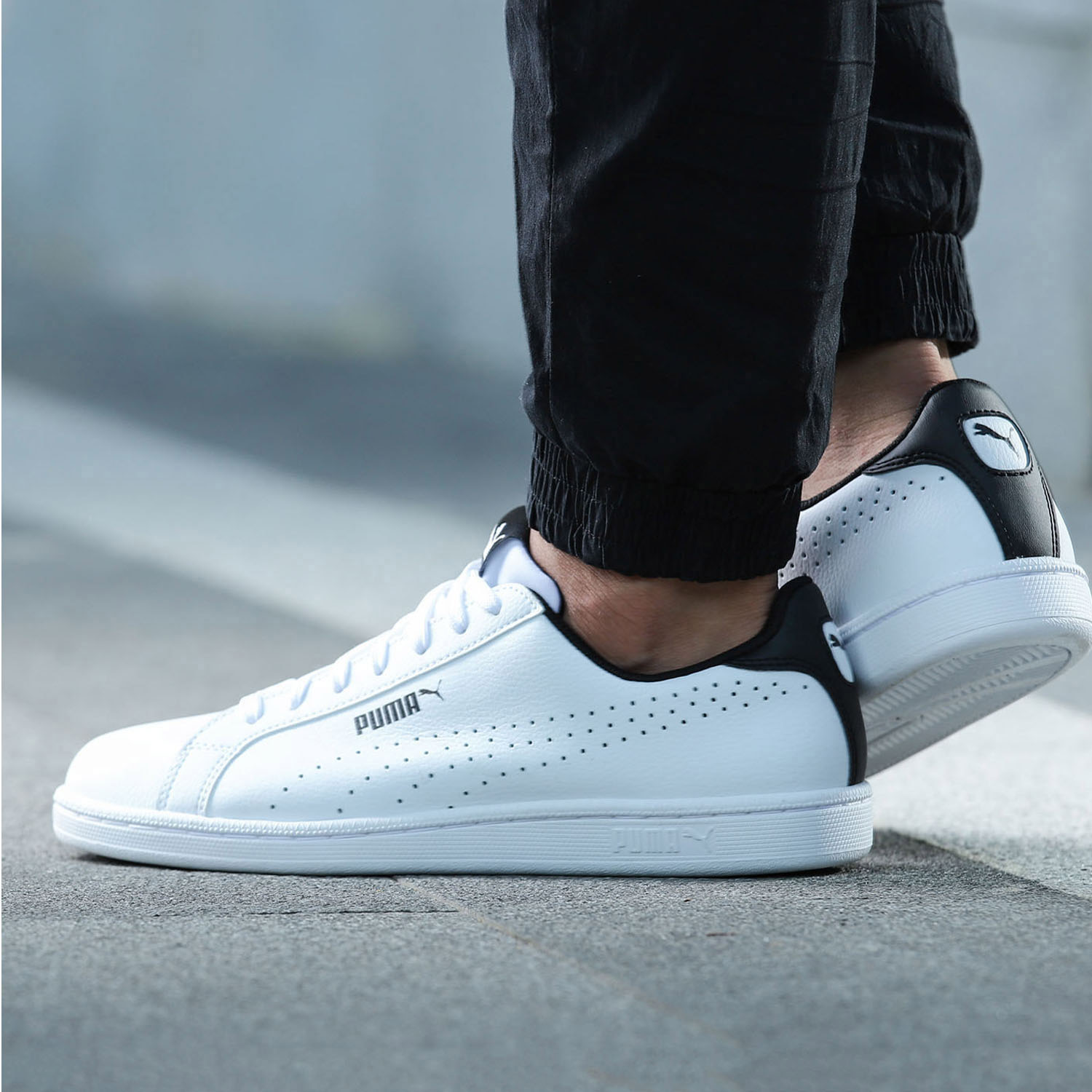 Puma Puma men and women shoes breathable lightweight sports shoes casual shoes  2017 New small white shoes 36372202 b97047809