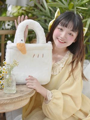 taobao agent DRDR original good big goose shoulder messenger armpit handbag lolita fresh and sweet cute girl large capacity