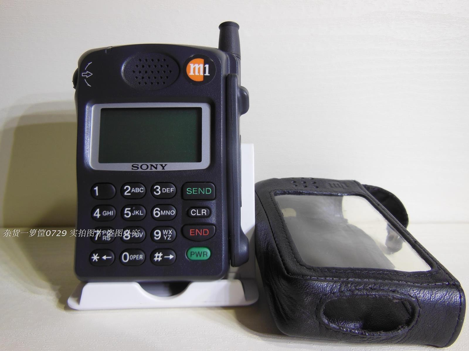 Used collection SONY Sony CM-Z100 brick machine Big Brother old phone  antique mobile phone simulator