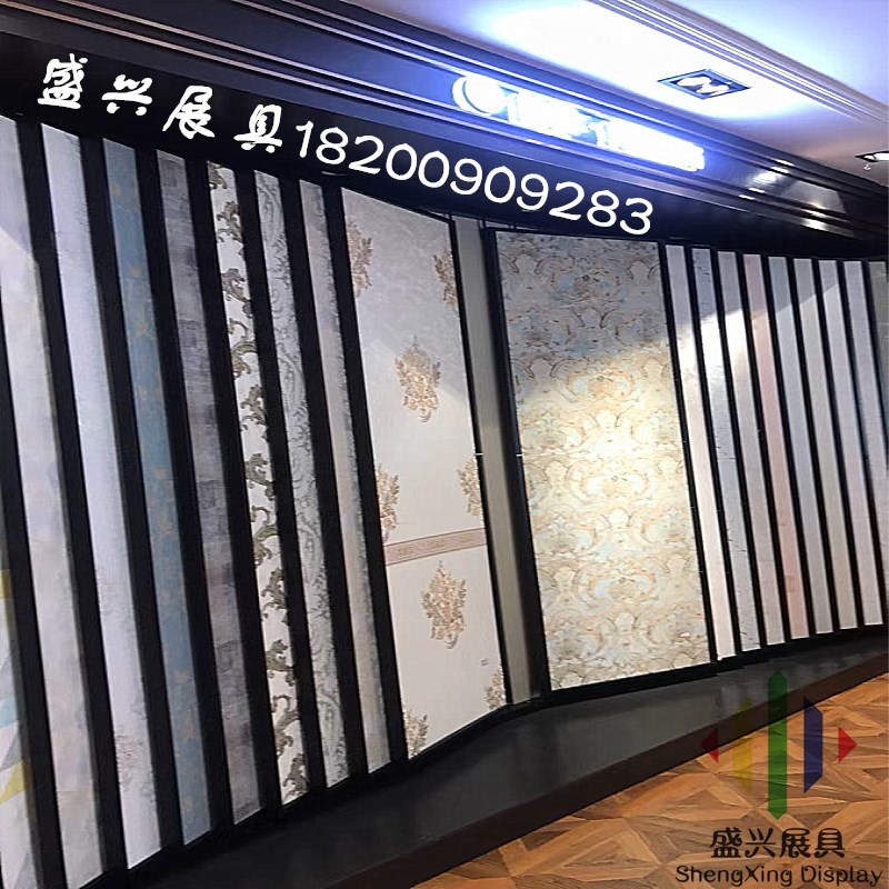 Exhibition Stand Wallpaper : Wooden floor display rack flip floor exhibition stand wallpaper