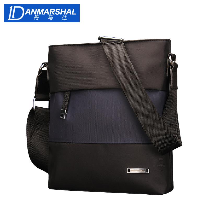 丹马仕IPAD包包新款精品男包商务休闲尼龙布单肩包斜挎包男士包包