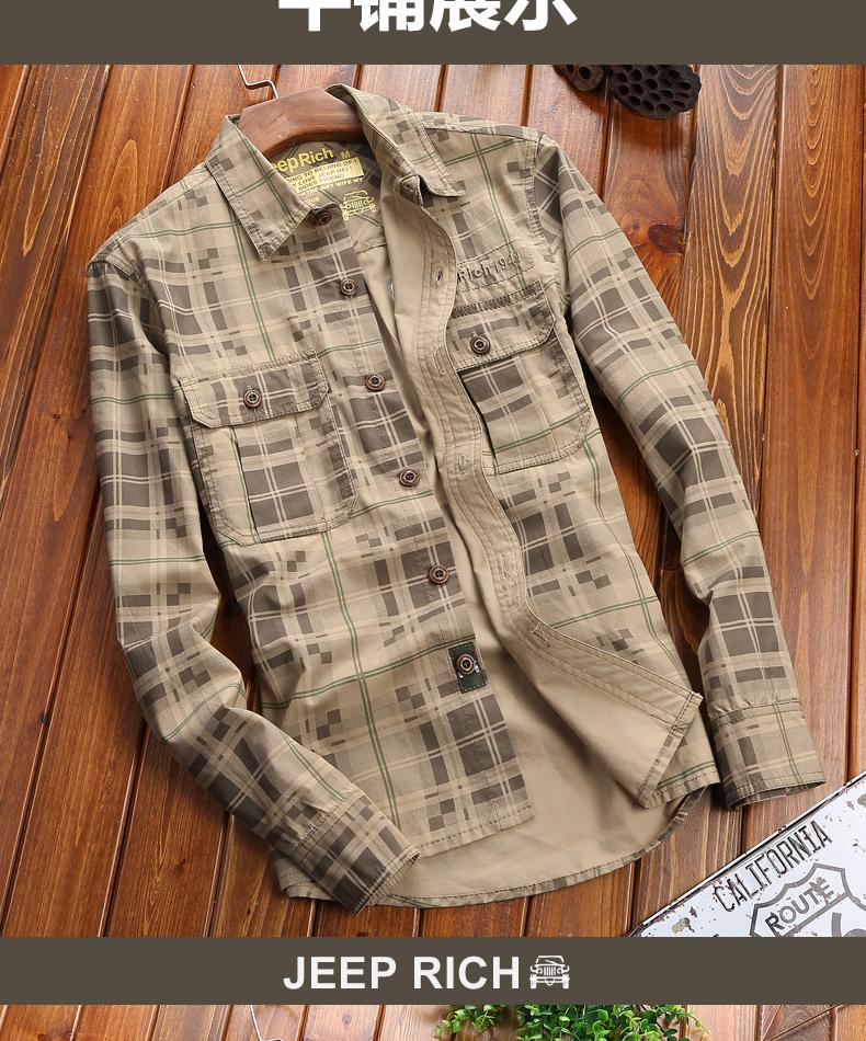 Pure cotton lad shirt men's long sleeves men's spring casual shirt water wash men's clothing bottom inch shirt 55 Online shopping Bangladesh