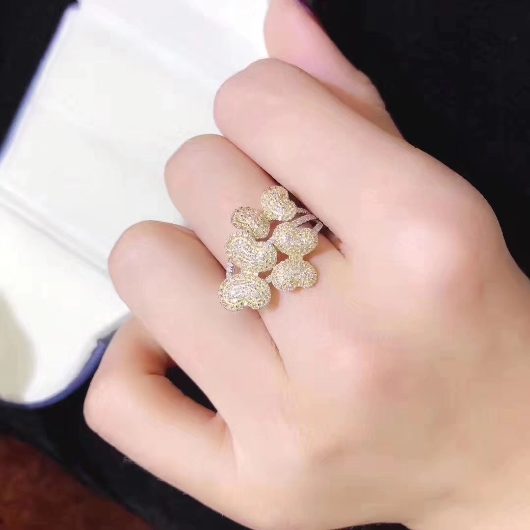 Japanese jewelry is not a second-hand jewellery 18K gold diamond ...