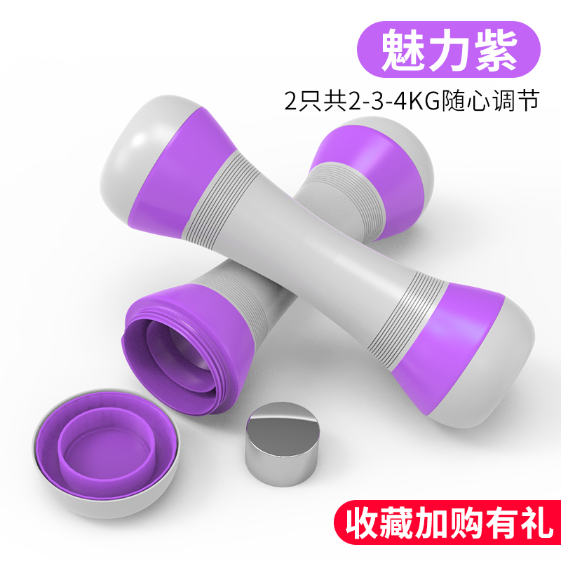 Purple [2 Pack] [weight Can Be Adjusted 2-3-4kg Collection Plus Gifts]