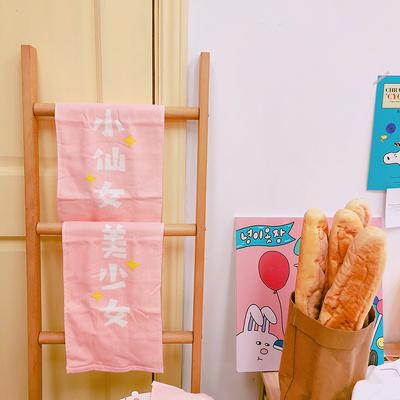 毛巾纯棉洗脸家用可爱少女擦手洗脸巾学生宿舍全棉吸水小长方形女