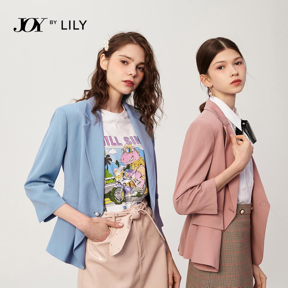 宋轶代言 Lily 2020夏季新款 女式休闲短西装小外套 双重优惠折后¥349包邮 多色可选