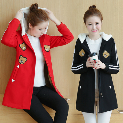 17 winter clothing 14 girls fall and winter jacket 13 junior high school students 12-year-old boy 15 girls sweater plus velvet thickening