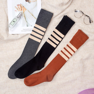 Fitness socks female mid-tube professional sports socks long-tube running summer trousers sweat-absorbent breathable student yoga socks thin