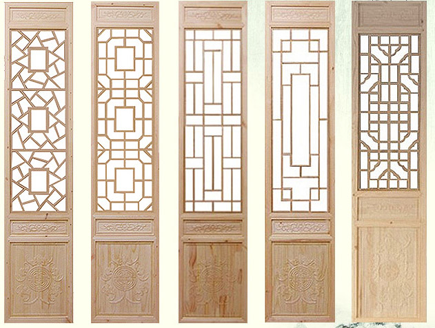 Custom Dongyang wood carving chinese antique flower door and window  partition screen solid wood door carving - USD 29.82] Custom Dongyang Wood Carving Chinese Antique Flower Door