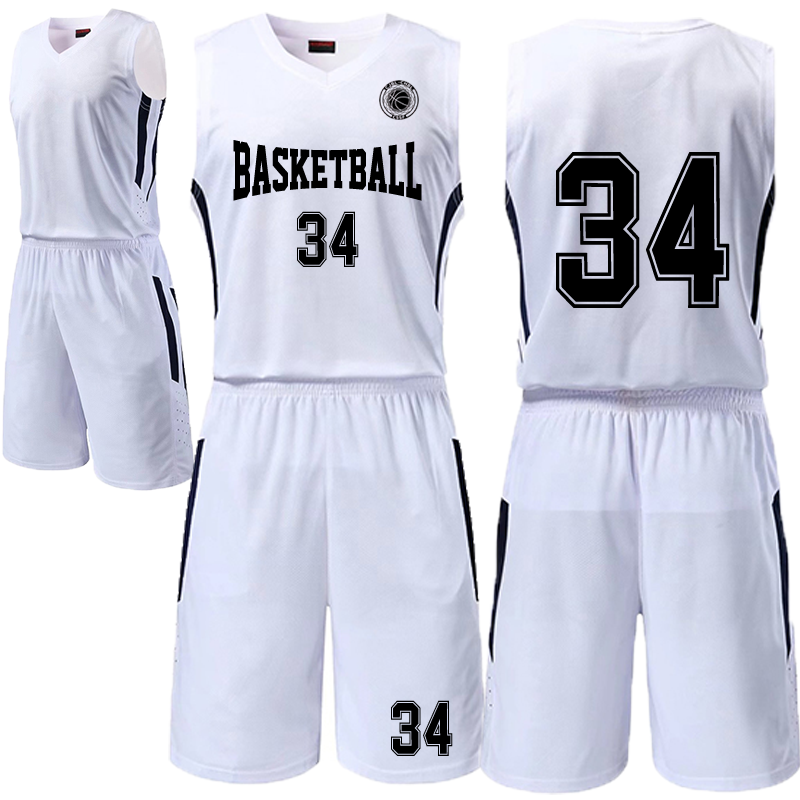 super popular 894bf 67a43 18 new basketball uniforms custom double pocket basketball uniforms sweat  breathable DIY printing elite basketball uniforms