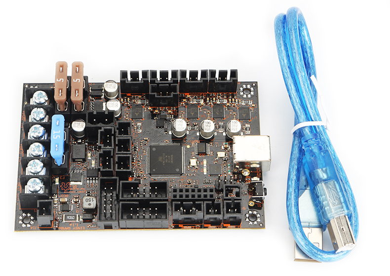 3D printer Prusa i3 MK3 integrated motherboard Einsy Rambo 1.1b with driver TMC2130*4