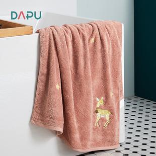 【大朴】新疆长绒棉加厚A类浴巾