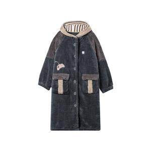【618预售】【大朴】A类情侣睡袍超级玩家连帽睡衣