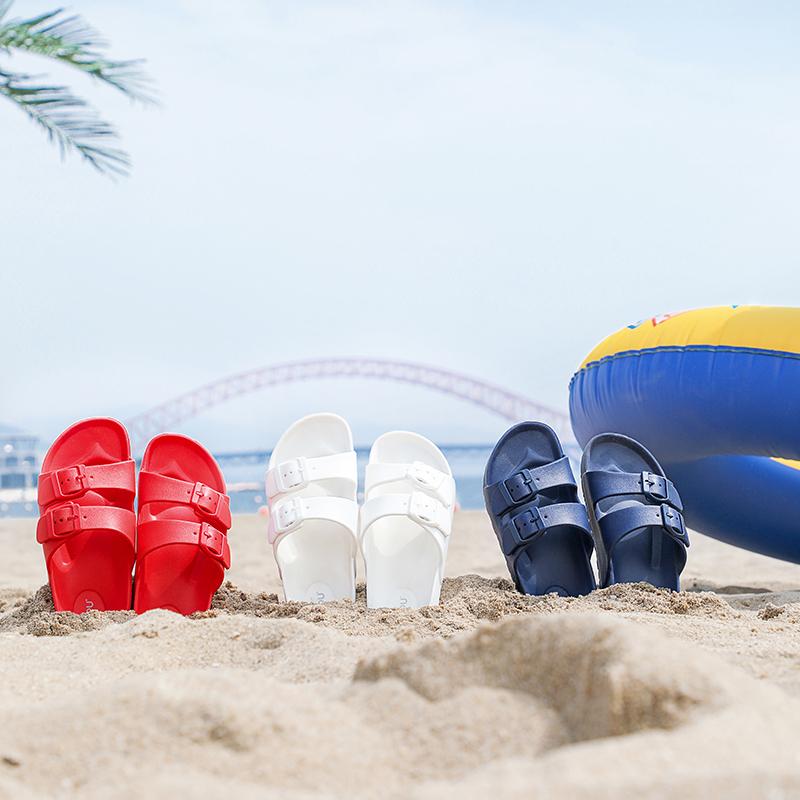 白菜价!EVA加厚软底,多款:DAPU大朴 男女儿童 休闲沙滩拖鞋