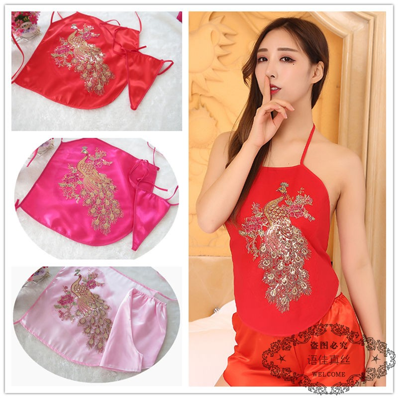 ea1c40ef3e20 Sexy bellyband ladies summer classical adult cute retro sexy pajamas belly  underwear lace court