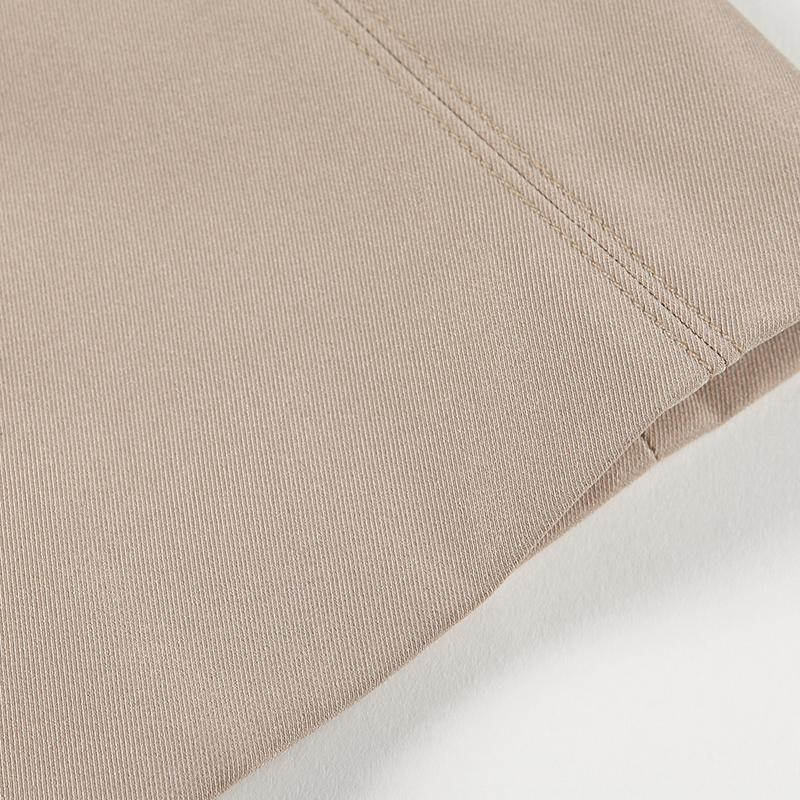 粉蓝衣橱 英伦风 经典气质双排扣女式风衣女中长款春秋装外套
