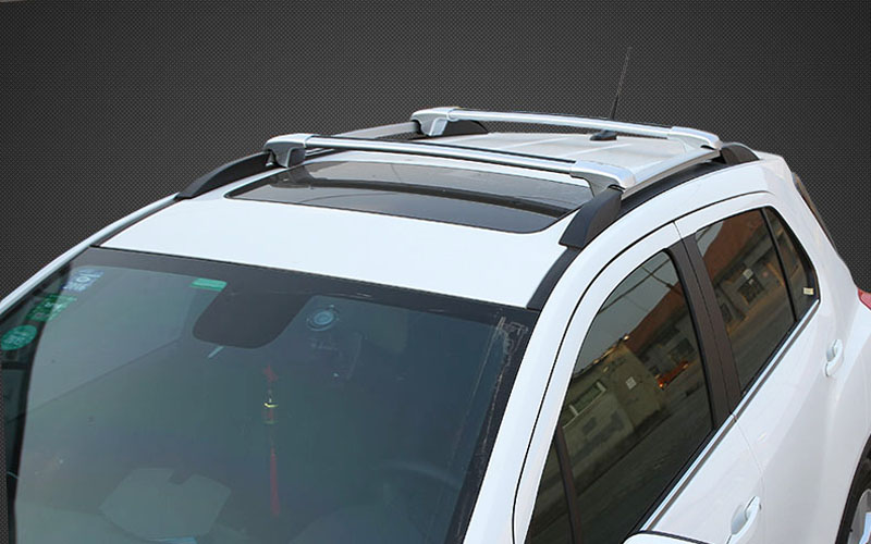 2pcs Silver Luggage Carrier Car Roof Rack For Chevrolet