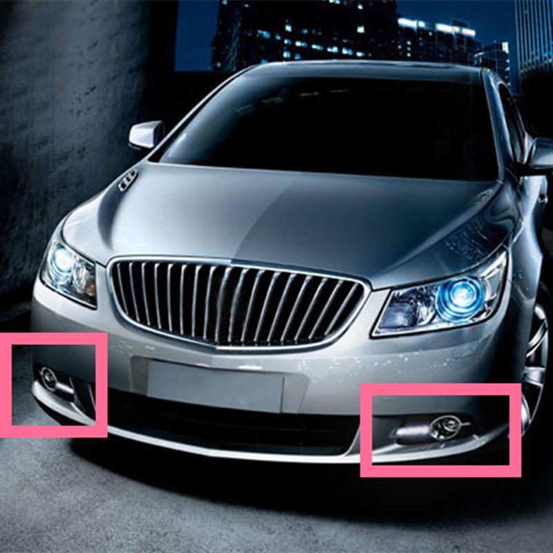 2013 Buick Lacross: 2PCS White LED Daytime Running Light DRL Driving Lamp For