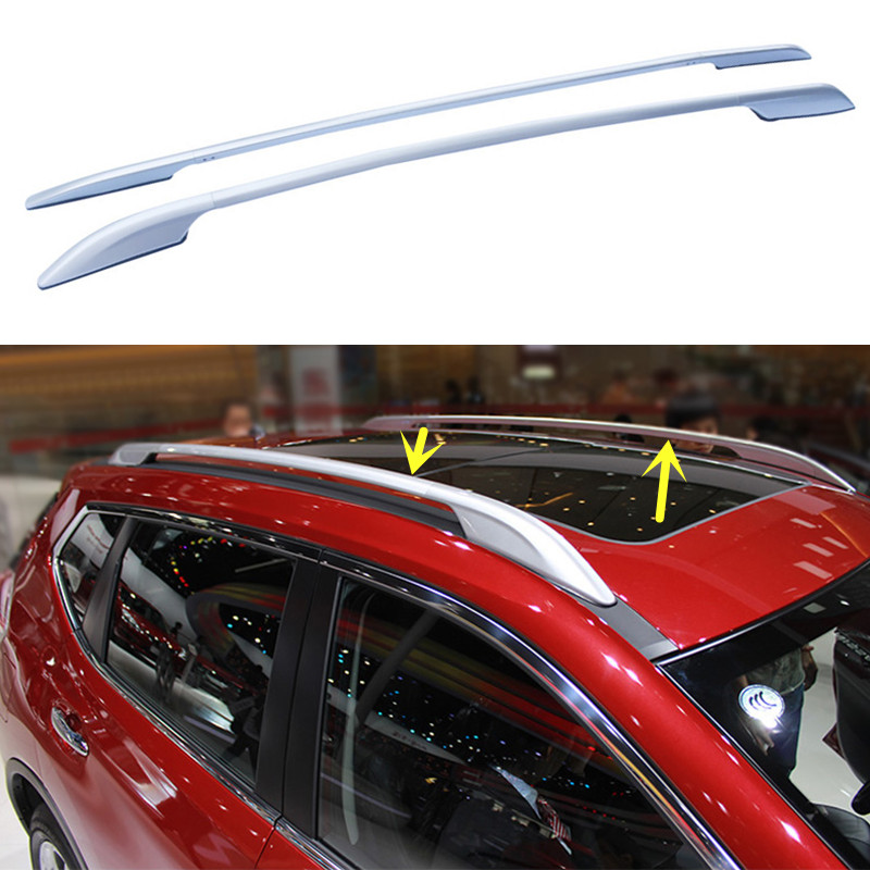 For Nissan X TRAIL 2014 2016 Car Top Roof Rack Cross Bars Luggage Carrier