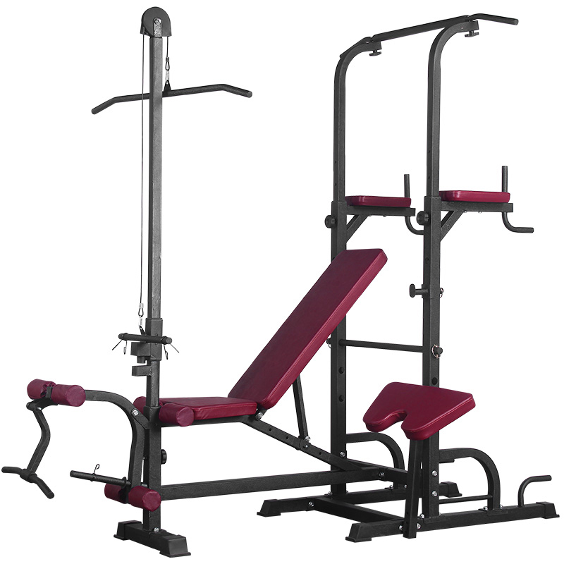 SINGLE PARALLEL BAR BENCH PRESS (WITH HIGH DRAWBAR)