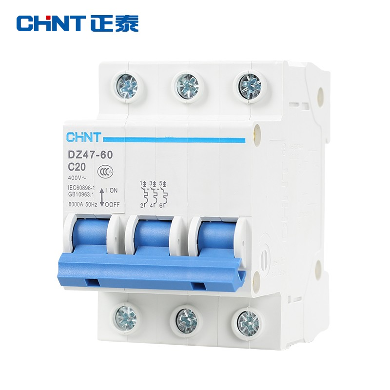 Chint small air switch protector Household electric switch open ...