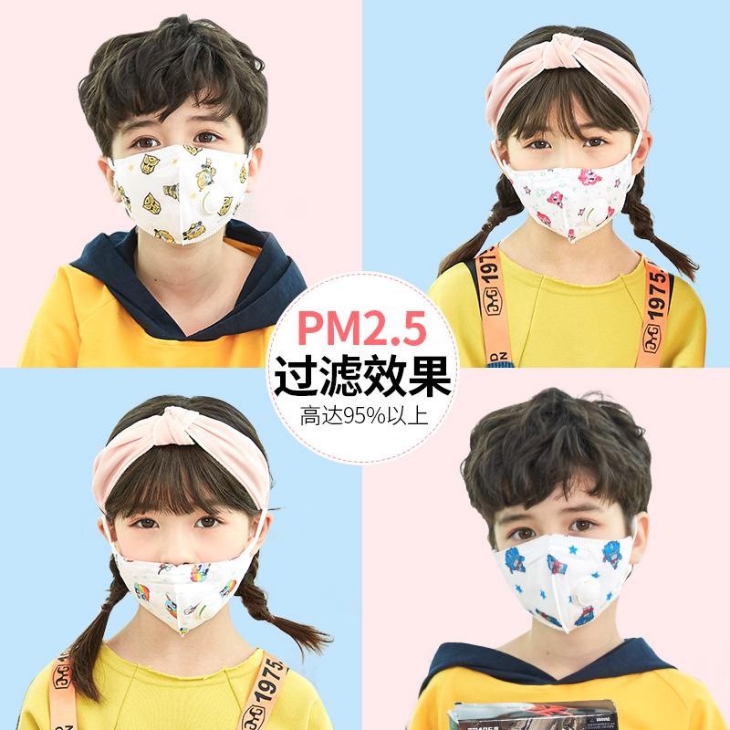 PM2.5过滤95%:10只 小马宝莉&变形金刚正版授权 KK树 儿童防雾霾口罩