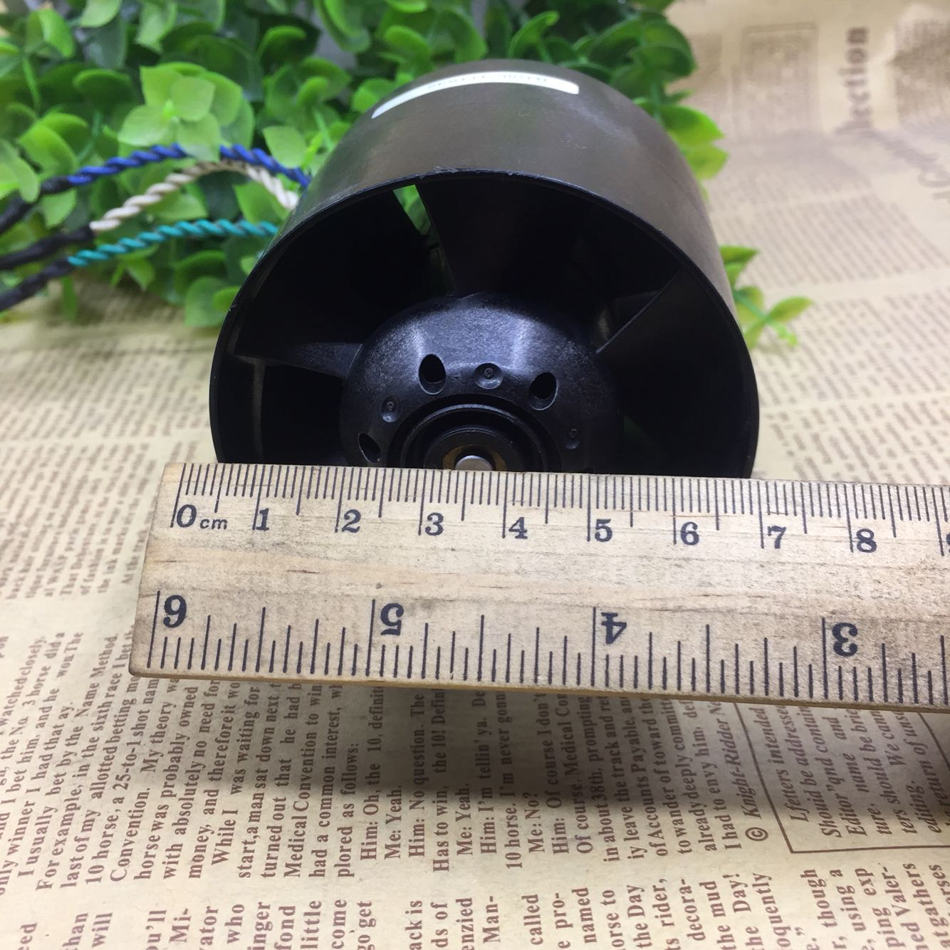 Violence all plastic ducted fan rotor brushless DC motor high-speed