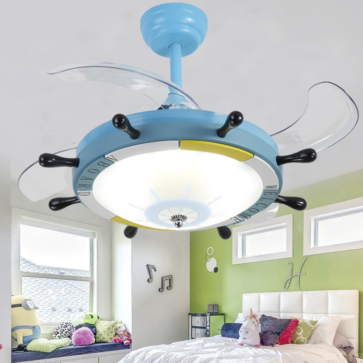 Usd 13857 the rudder of the child stealth ceiling fan light boys lightbox moreview lightbox moreview aloadofball Image collections