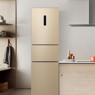 海信 BCD-220WYK1DQ三门式电冰箱风冷无霜家用节能小型冷藏冻