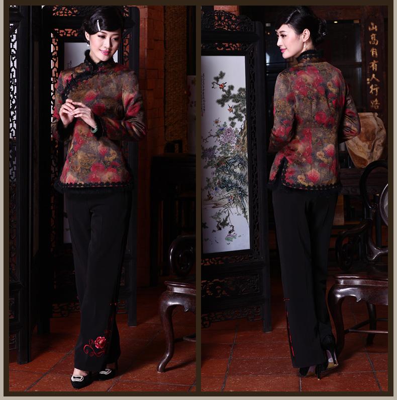 东方优雅 绝色容颜(十三)【旗袍与外套】 - 花雕美图苑 - 花雕美图苑