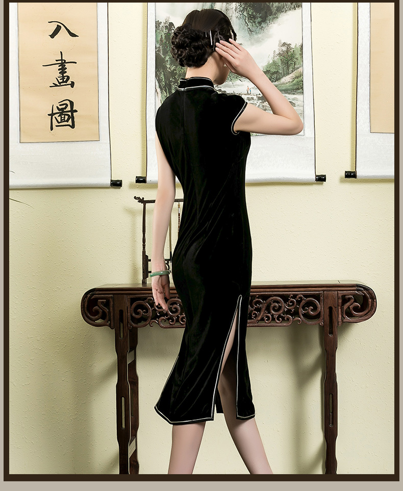 东方优雅 绝色容颜(十九)【旗袍与上衣】 - 花雕美图苑 - 花雕美图苑