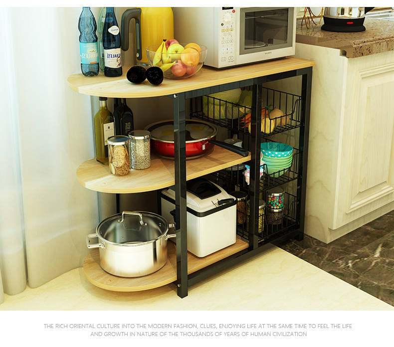 Home Furniture Kitchen Shelves Small Appliances Microwave