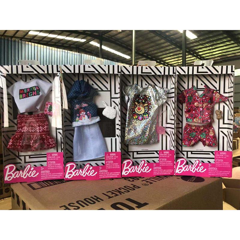 好媽媽玩具芭比娃娃Barbie時尚衣櫥衣服鞋子包包配飾品換裝組合女孩公主玩具