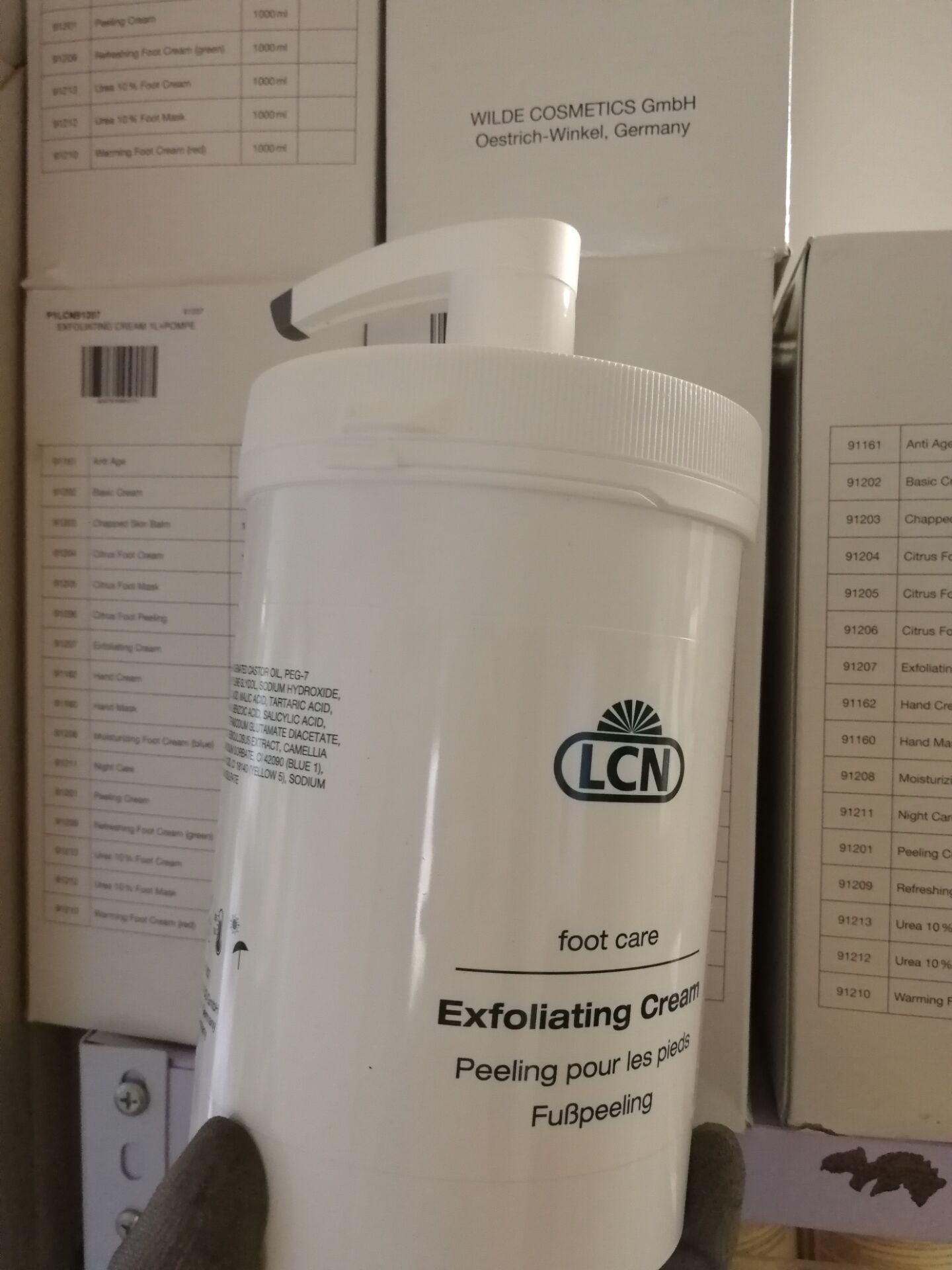 LCN果酸磨砂膏1000毫升院装仅供店铺全身适用