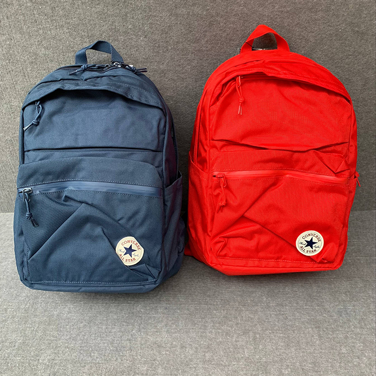 c57ac4fc9e8 Converse bag CONVERSE solid color classic backpack backpack men and women  school bag 10003335-A03