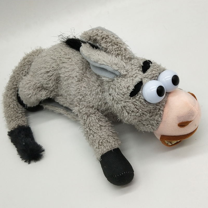 Rolling donkey will dance sound control laughing shaking small donkey  electric plush toys children creative birthday gift
