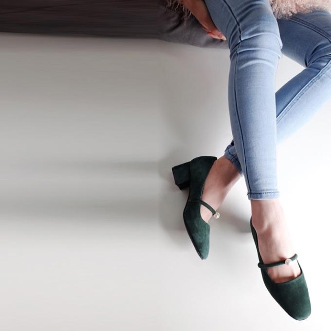 想增高又想舒服?一双方跟鞋满足你