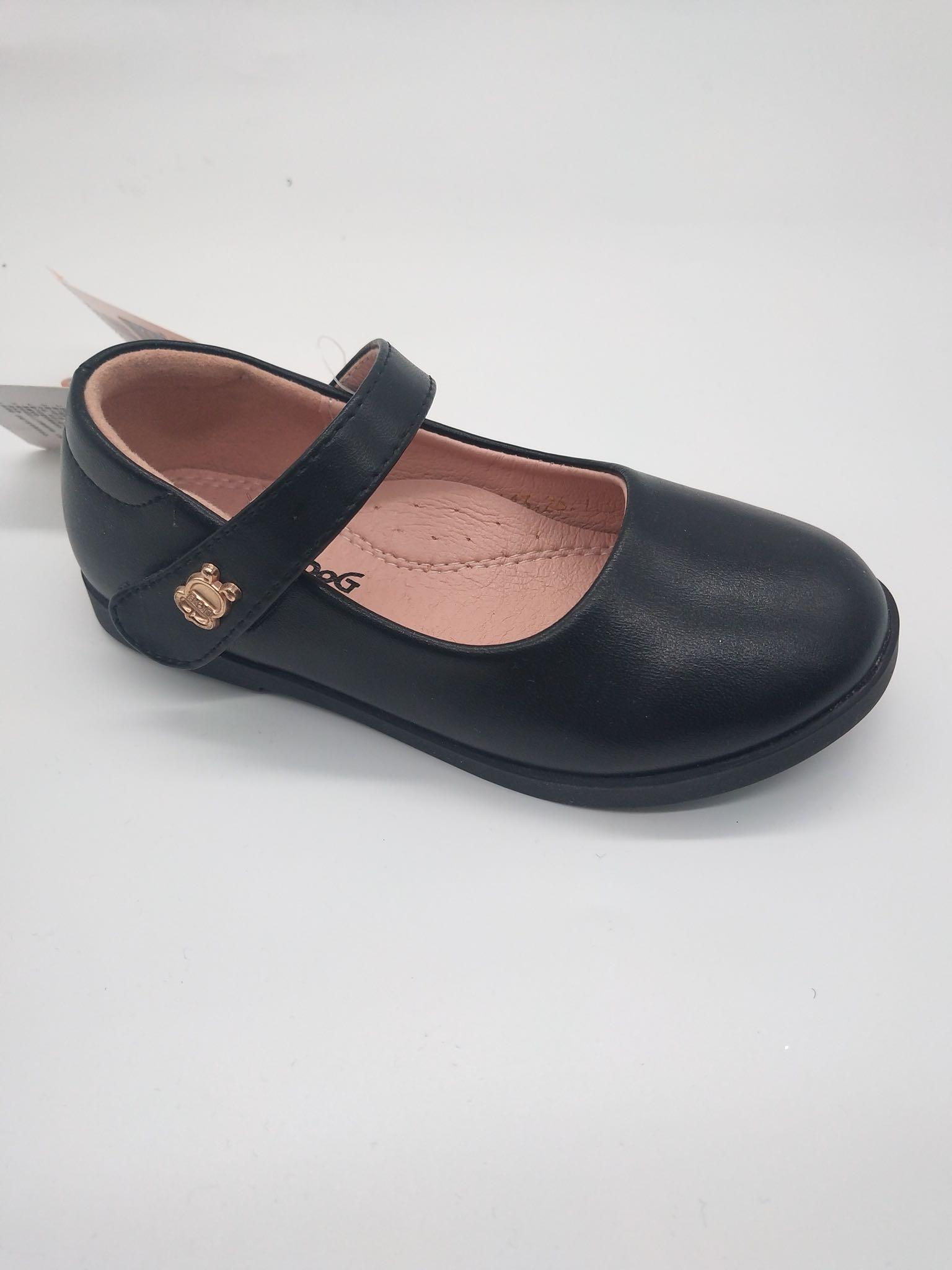 2019春季新款巴布豆Bobdog专柜同步正品实拍秒发磨砂面女童皮鞋
