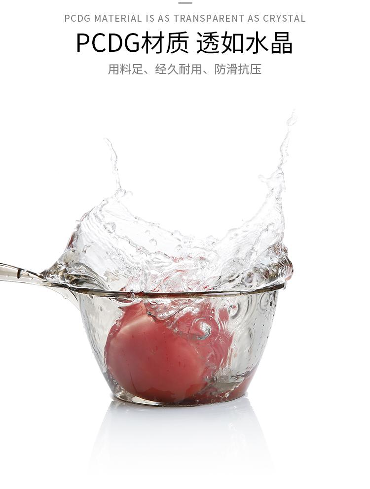 家用厨房水瓢加厚塑料水勺洗澡舀水勺水漂舀子长柄创意洗髮水勺子详细照片
