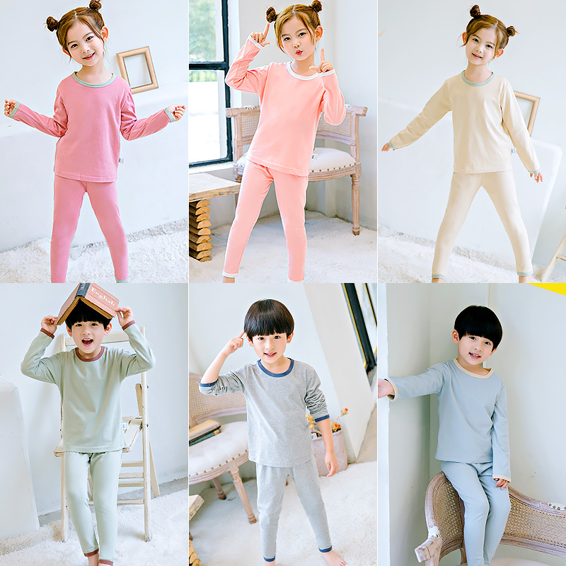 9eb402ee62bc Children s pajamas boys and girls air conditioning home service small ...