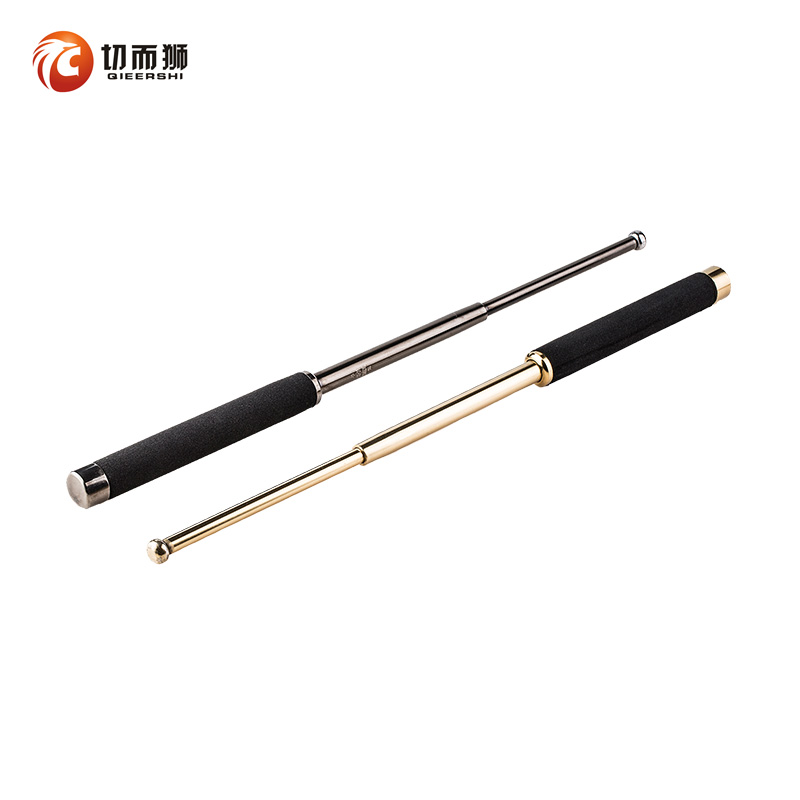 Body defense weapons Flung whip stick three sticks women car self-defense supplies steel stick anti-wolf stick stretching wrestling stick